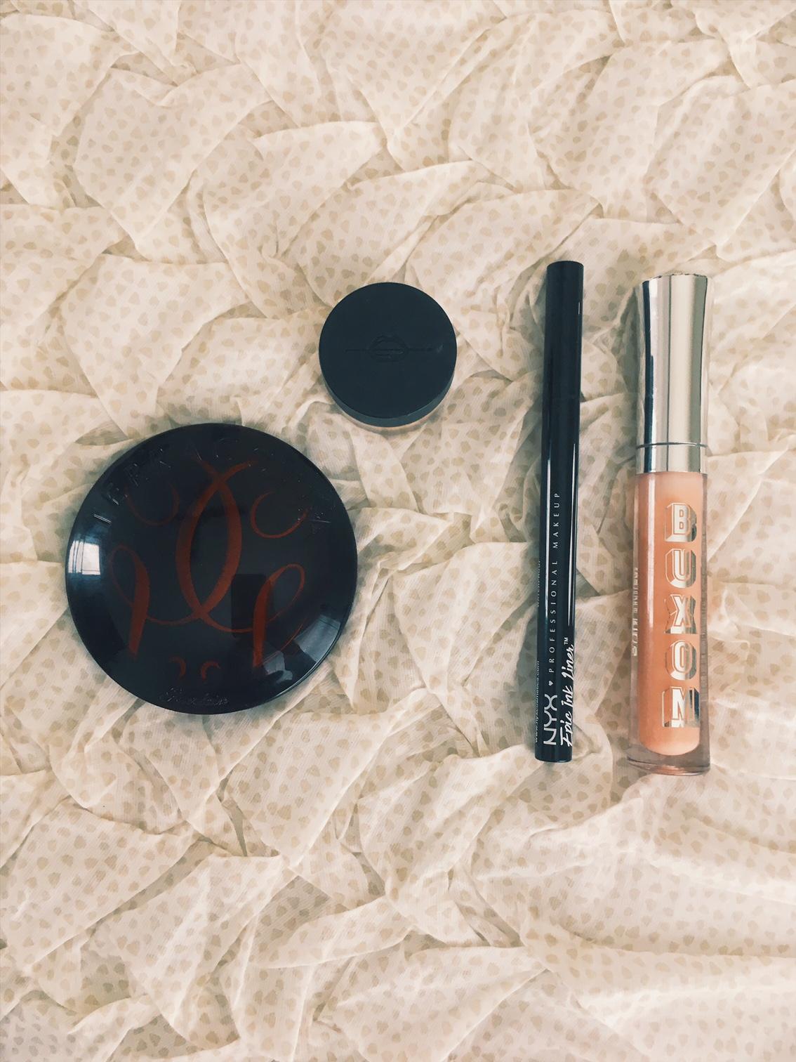 August makeup favorites - bronzer-eyeliner
