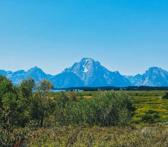 Grand Tetons Mtn View