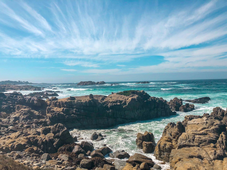 17 mile drive ocean view