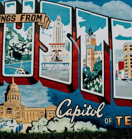 austin texas weekend guide mural