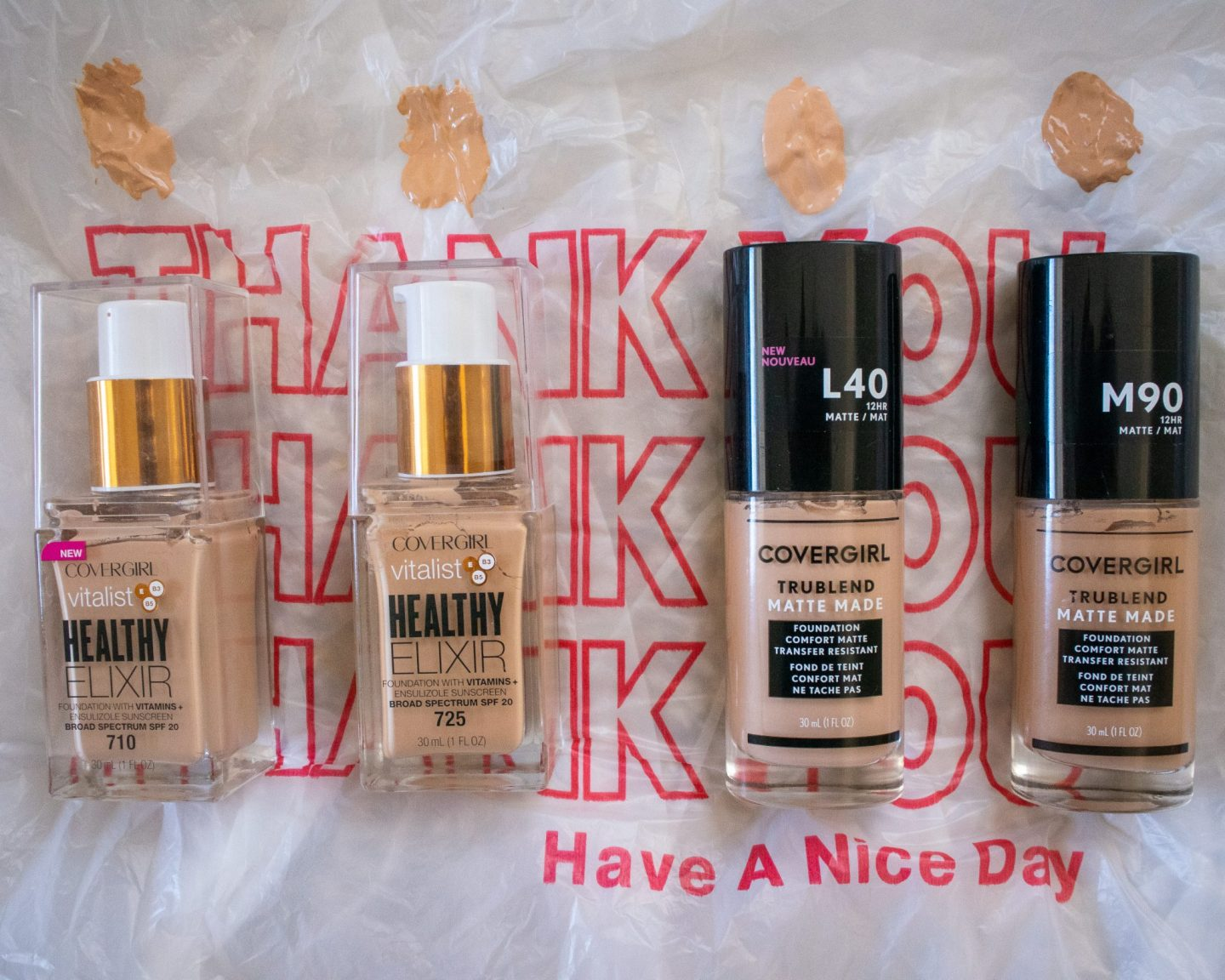 covergirl drugstore foundations